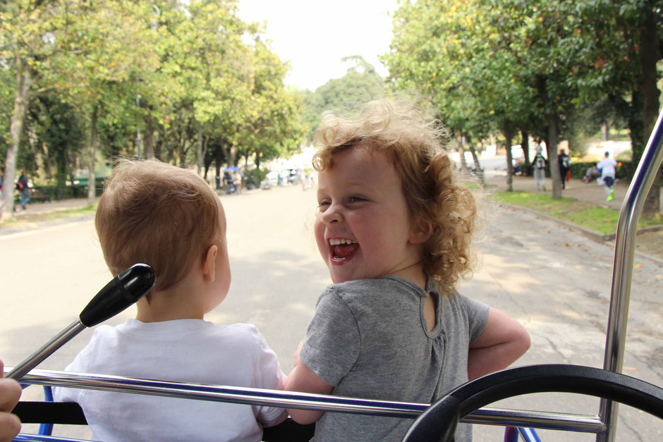 Villa Borghese Gardens Rome with children