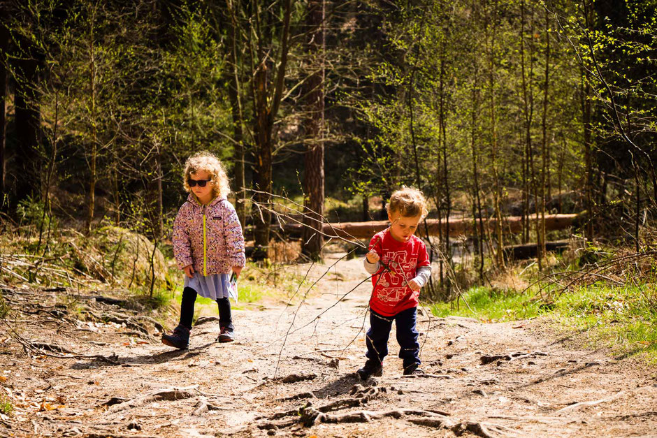 Hiking to Mariina Vyhlidka with Children in Bohemian Switzerland