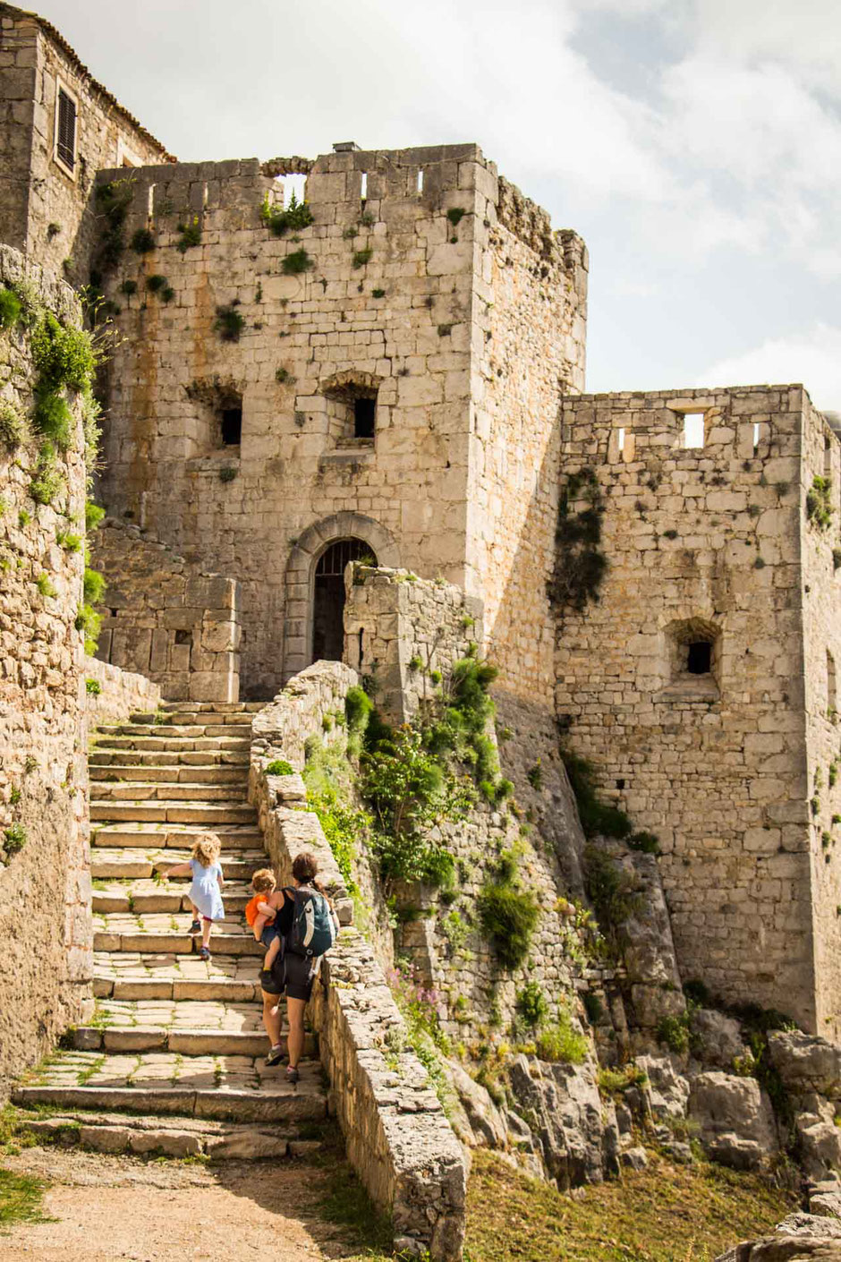 Klis Fortress in Split Croatia with Kids