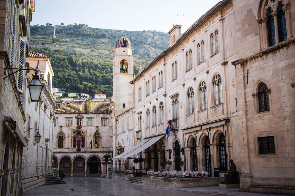 Dubrovnik Croatia with small children