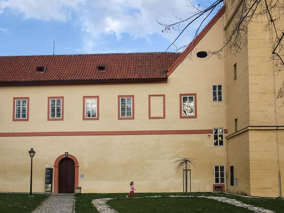 Monastery in Cesky Krumlov