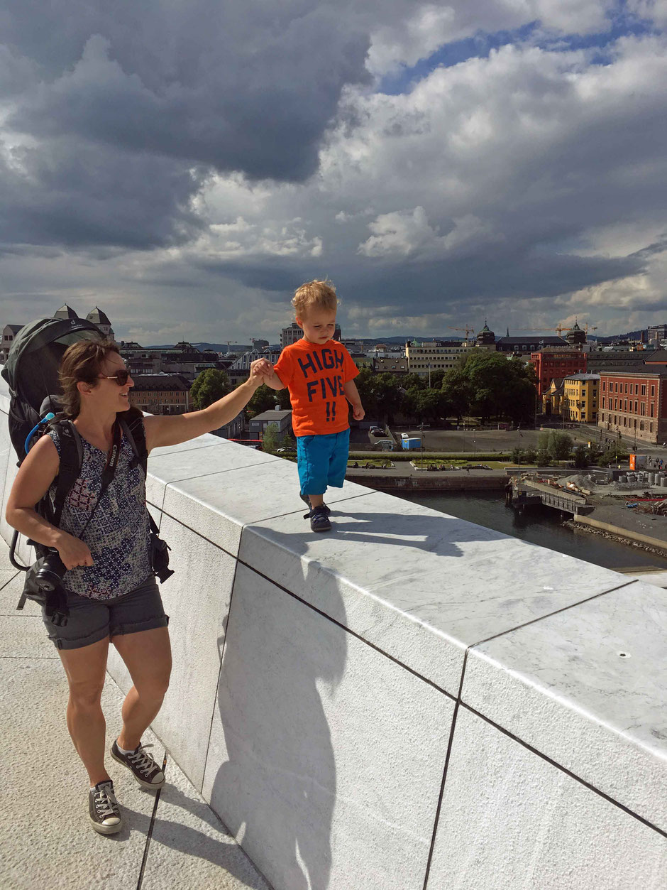 Visit Oslo Norway with kids