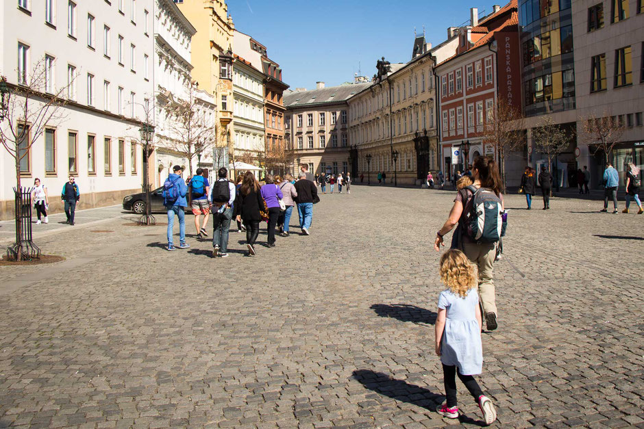 Prague Old Town Tour with children