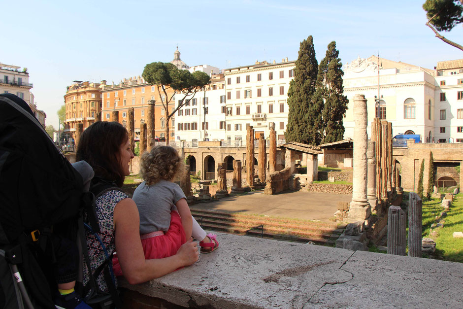 Largo di Torre Argentina Rome Family Travel