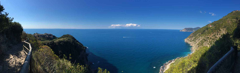 How to Hike Cinque Terre with Kids - Corniglia to Vernazza via the SVA - Ligurian Sea