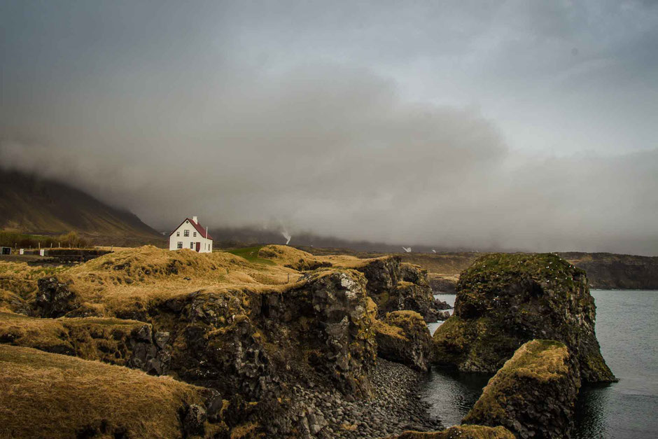 Hike Arnastapi to Hellnar Snaefellsnes Peninsula Iceland