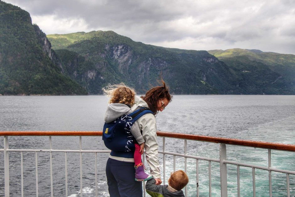 Hurtigruten voyage Alesund to Geirangerfjord Norway with kids