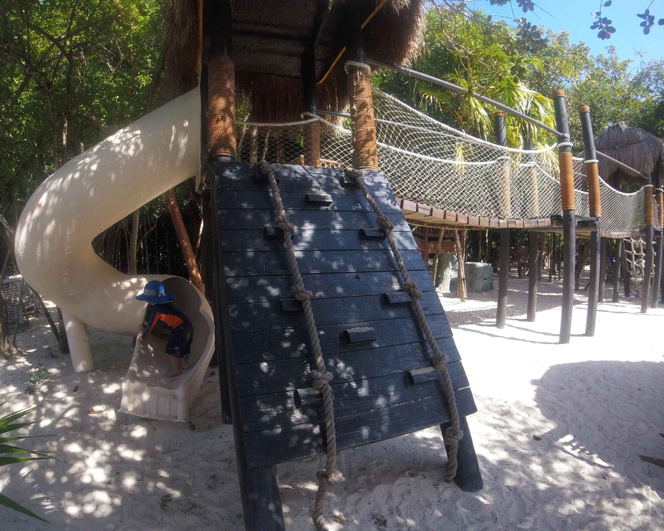 How to Have an Unparalleled Day at Xel-Ha, Mexico - Children's World - Fun on the Slide