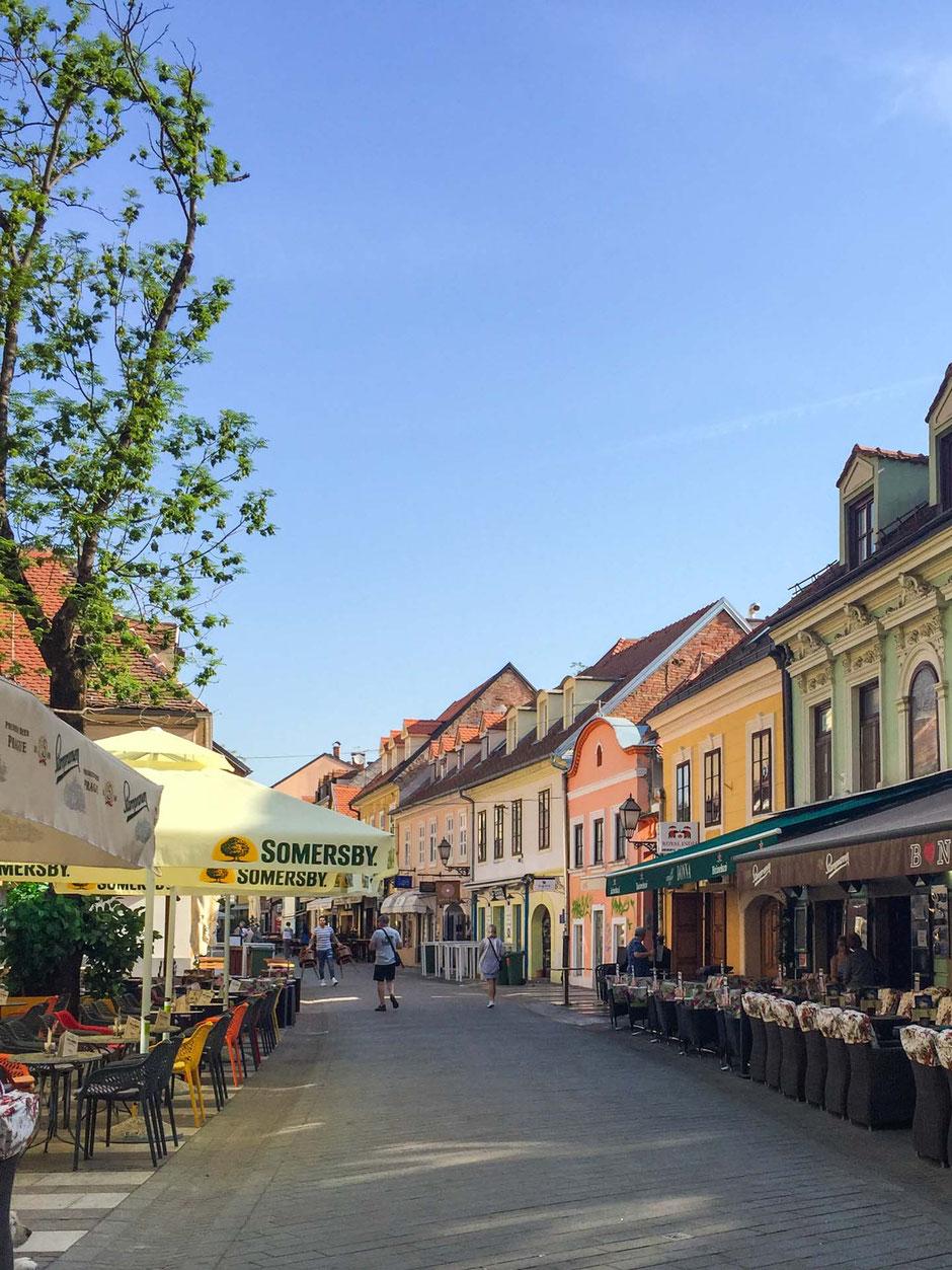 Tkalciceva Street Zagreb Croatia