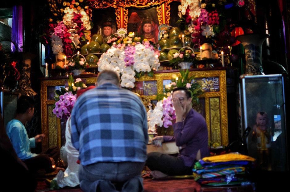 Len Dong – Zeremonie - Meeting mit den Geistern – heiko – ly