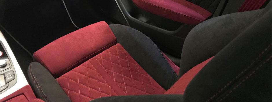 Audi RS6 Sitzausstattung Alcantara