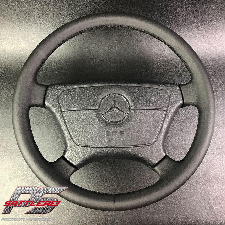Mercedes 500E Sattlerei