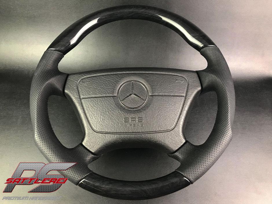 Mercedes W124 500E E500 Holz Lenkrad