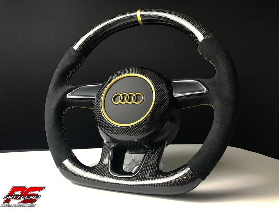 Audi RS6 Carbon Lenkrad mit Carbon Airbag