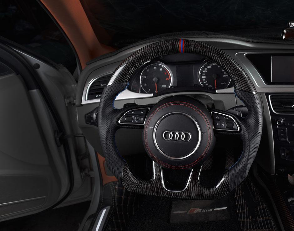Audi RS5 Carbon Lenkrad