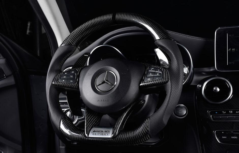 Mercedes AMG GTR Carbon Lenkrad