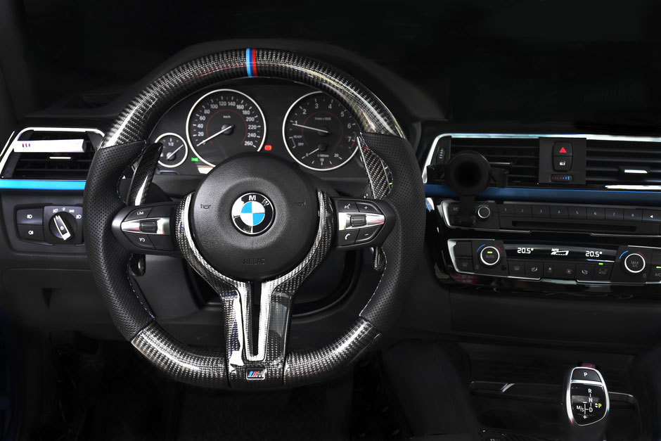 BMW M5 Carbon Lenkrad