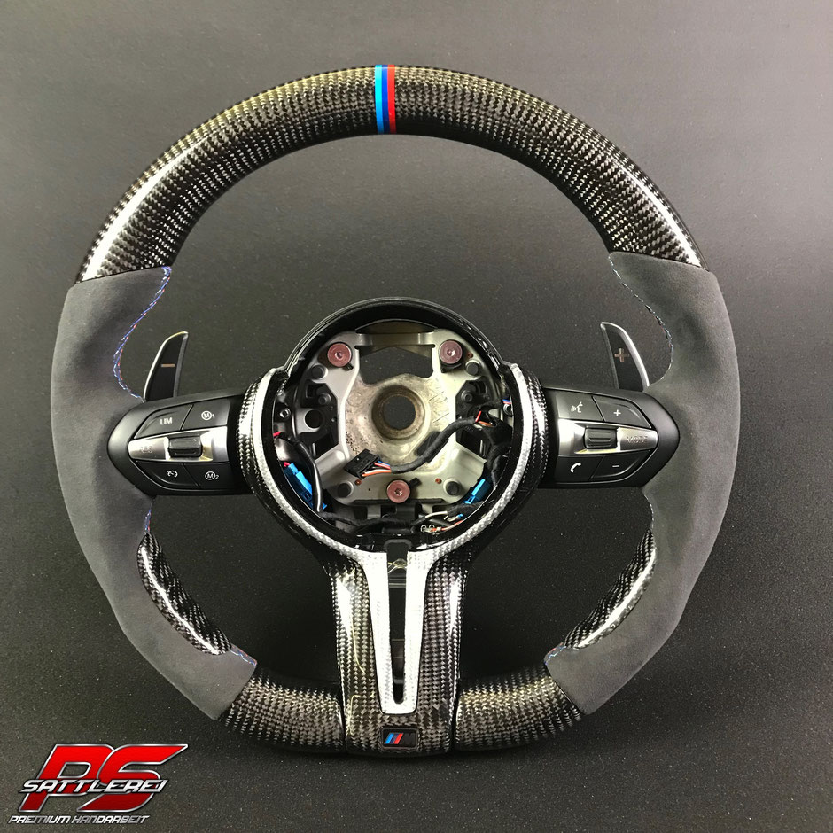 BMW M8 Carbon Steering wheel with Alcantara