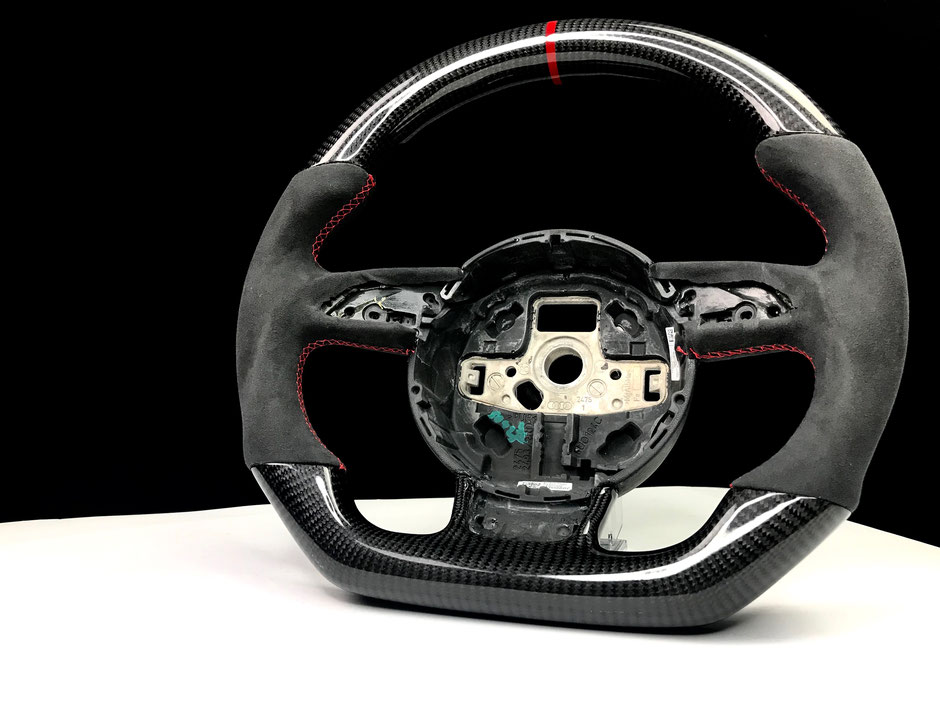 8V RS7 RS6 Carbon Alcantara Lenkrad