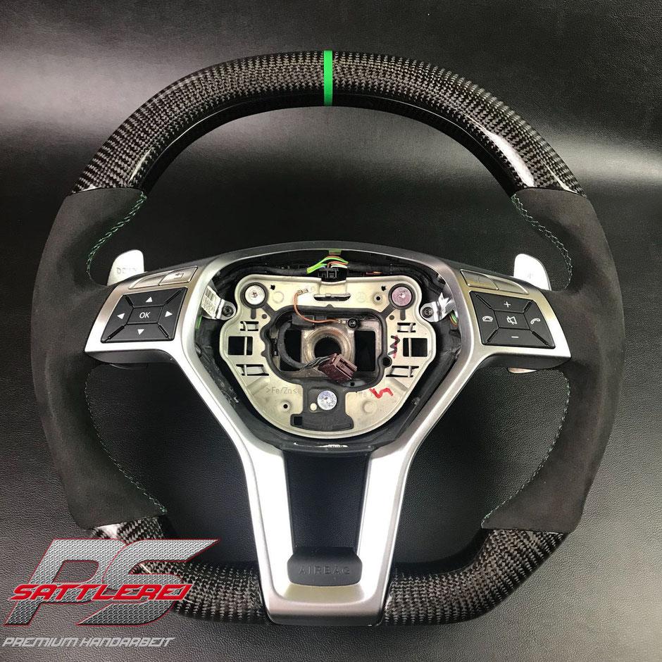 Mercedes AMG W205 Carbon Lenkrad