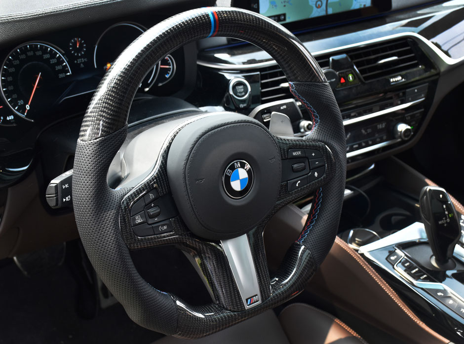 BMW M5 Carbon Steering wheel