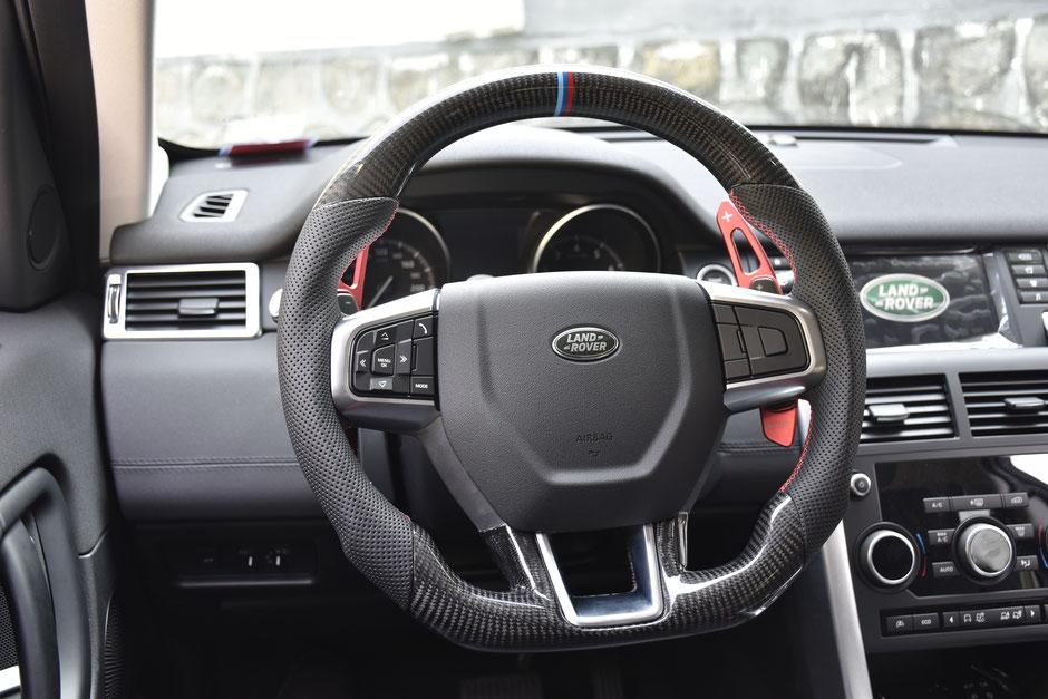 Land Rover Carbon Lenkrad