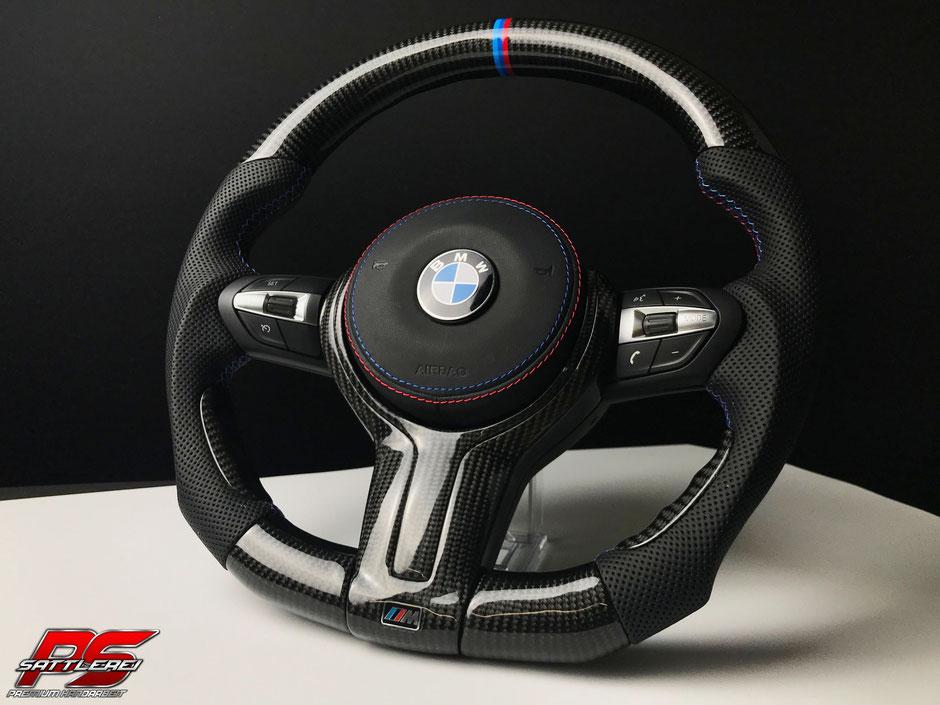 BMW M4 Carbon Lenkrad mit Leder Airbag