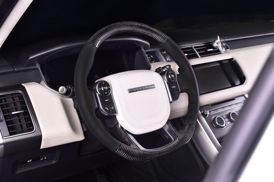 Range Rover Carbon Lenkrad