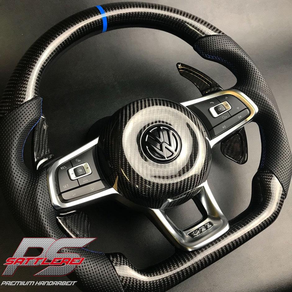Golf 7 R Carbon Airbag mit Ummodellierung