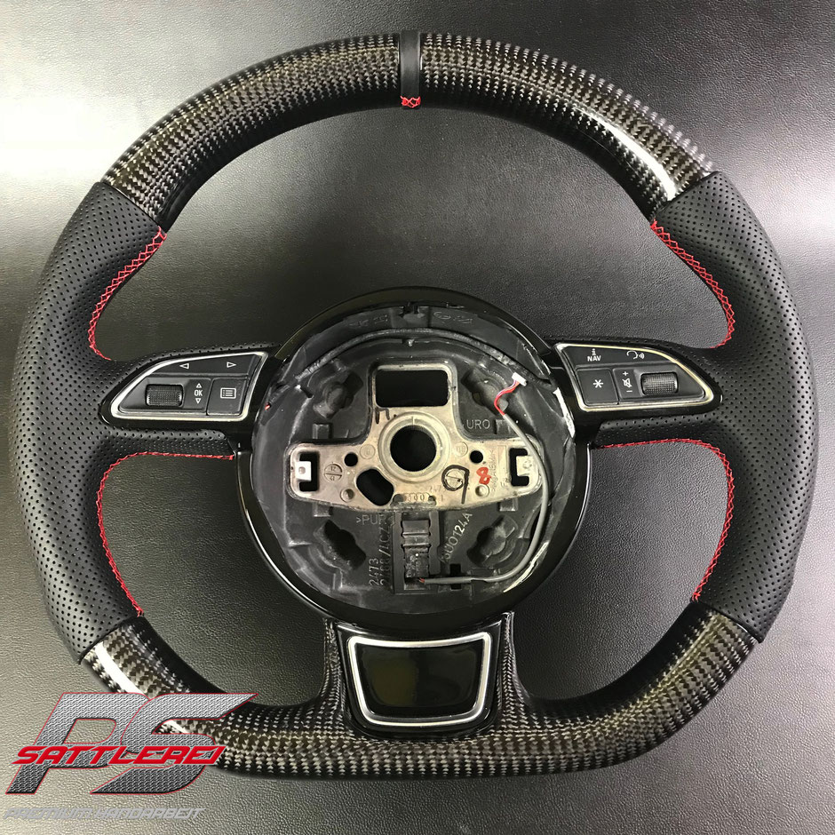 Audi RS3 RS4 RS5 RS6 Carbon Steering wheel