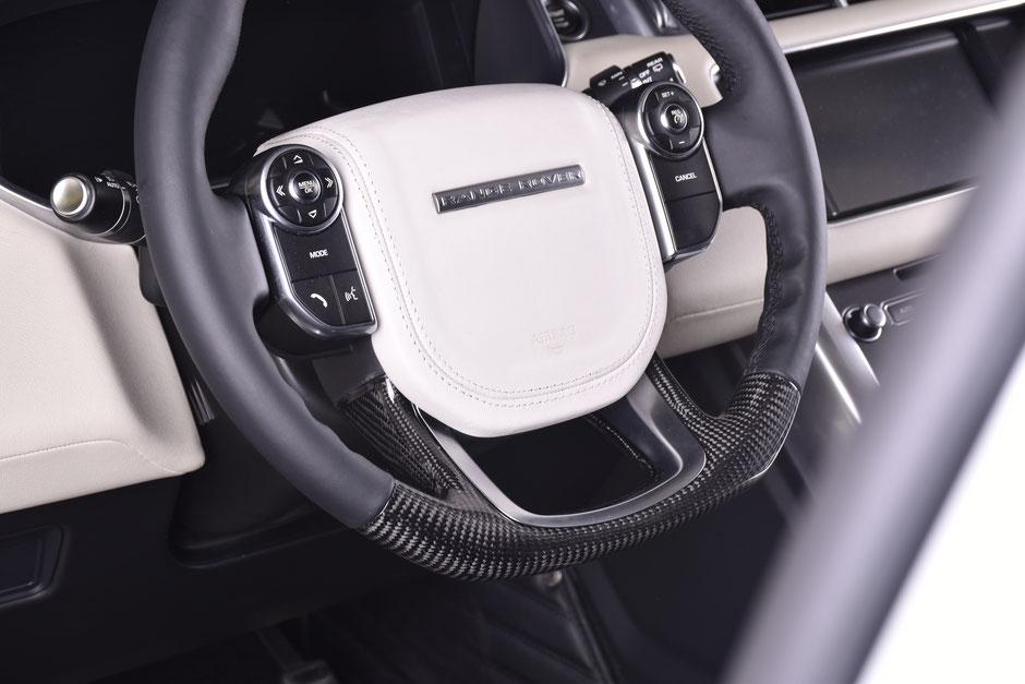 Range Rover Evoque Carbon Lenkrad