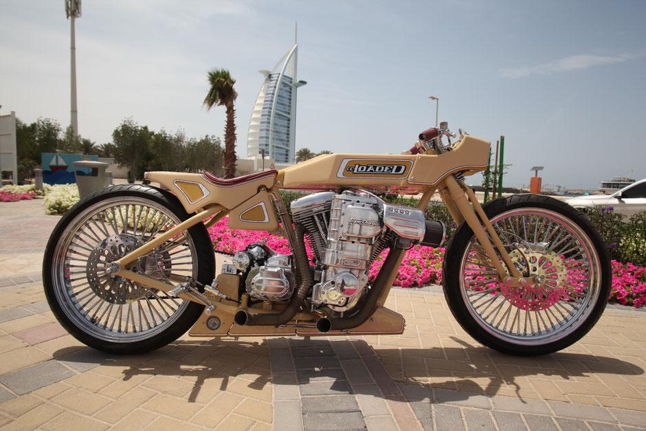 Motorradsitzbank Sattlerei