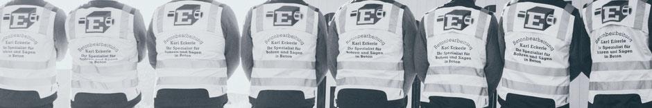 Team - Stellenangebote Betonbearbeitung Karl Eckerle
