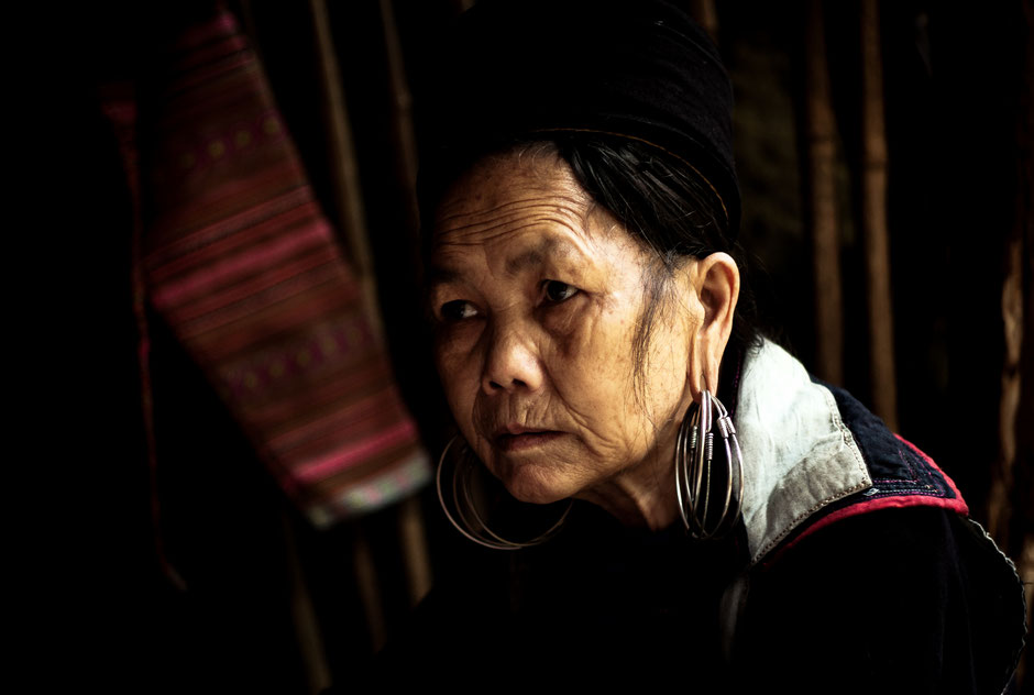 Black Hmong Women, North Vietnam, 2016