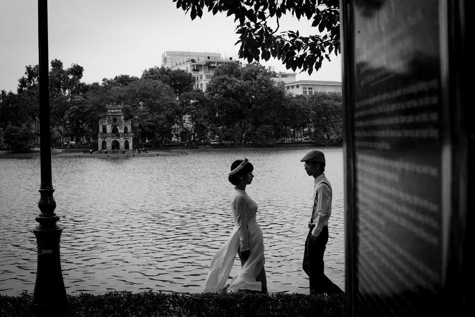 Lovers in Hanoi, Vietnam, 2016