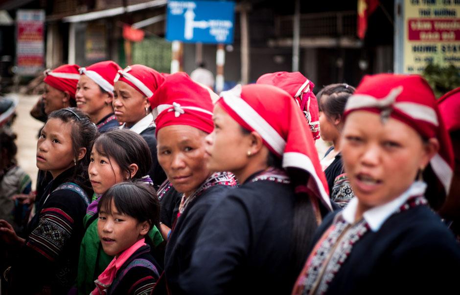 Red Dao minorities, North Vietnam, 2016