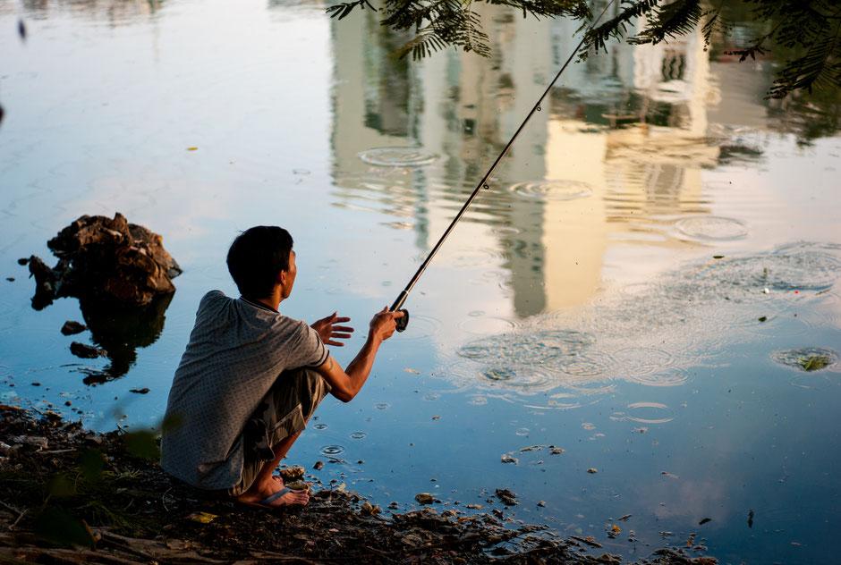 Trúc Bạch Lake, Hanoi, Vietnam, 2016