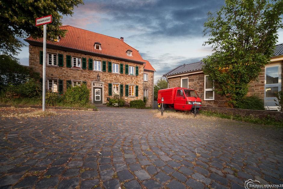 """Das """"neue Herweghaus"""", - ein historisches Bruchsteingebäude in Bensberg"""