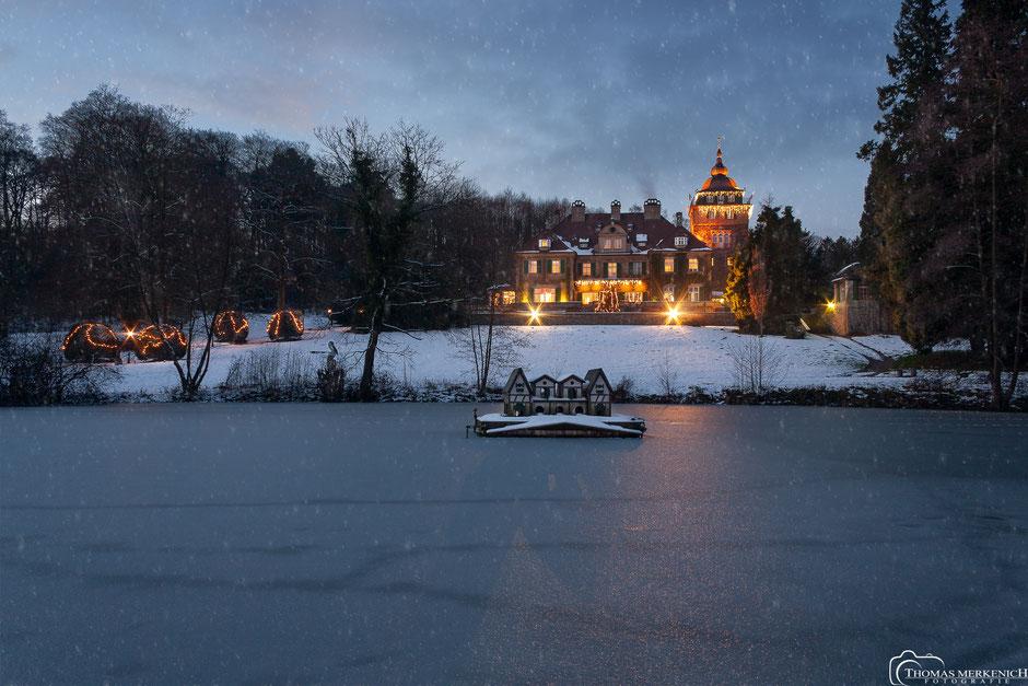 Schloss Lerbach im Winter
