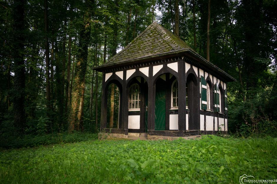Pumpenhäuschen am Papiermuseum Alte Dombach