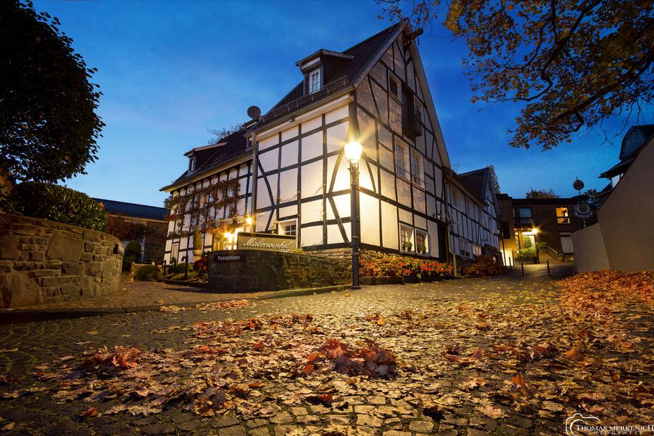 Hotel Malerwinkel in der Fischbachstraße in Bensberg