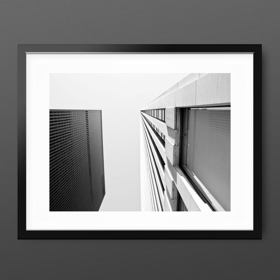 Architecture / Skyscraper Photography Print 'Looking Up New York' by PASiNGA