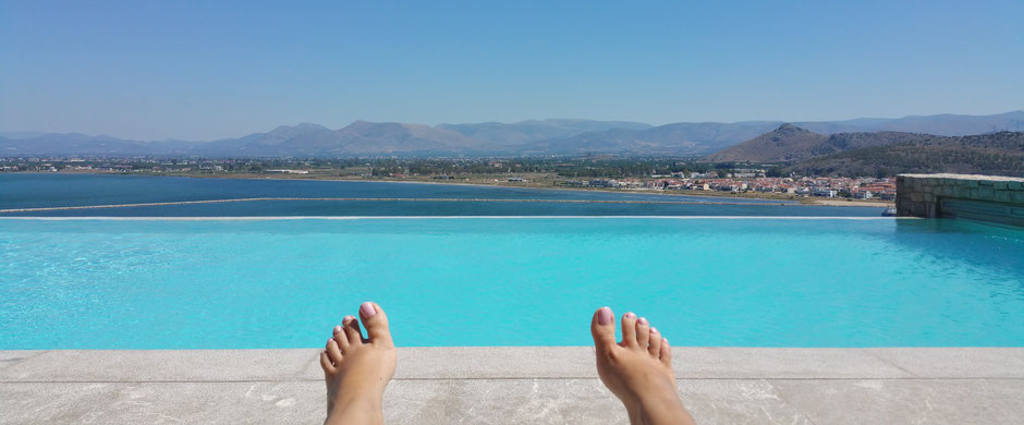 Nafplia Palace Infinity Pool