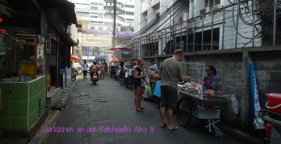 Ratchawithi Alley 18 Bangkok Garküchen