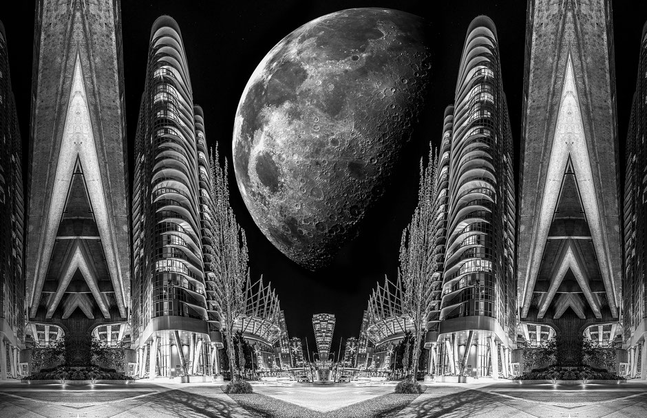 Christian Redermayer Photography, Silver Moon, Fine Art, Vancouver, Canada, British Columbia, Commercial Photography