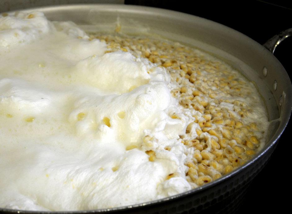 自然栽培の津久井在来大豆で味噌づくり@すどう農園