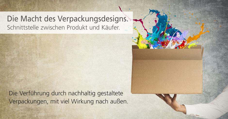 Verpackungsdesign hilft Kunden sich für ein Produkt zu entscheiden.