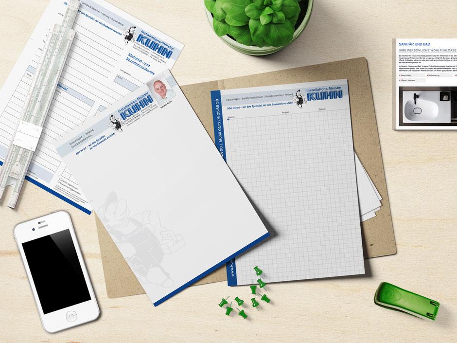 Alles aus einem Guss – das ist Corporate Design von Comtyp für meine Kunden.
