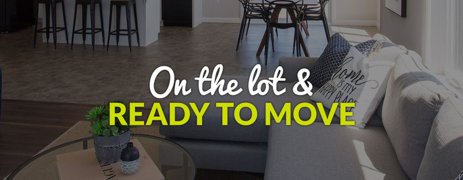 new homes move in ready
