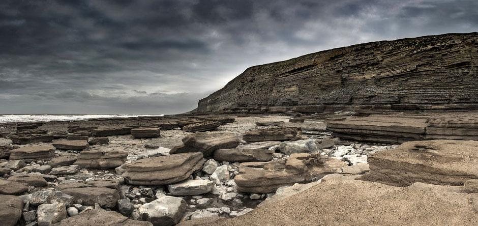 Wales, Dunraven Bay, Küstenlandschaft